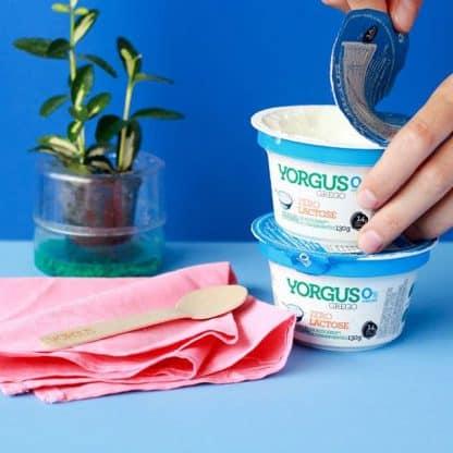 Iogurte tipo Grego 0% Gordura ZERO LACTOSE Yorgus