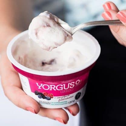Enviado em Iogurte tipo Grego 0% Gordura Frutas Silvestres Yorgus