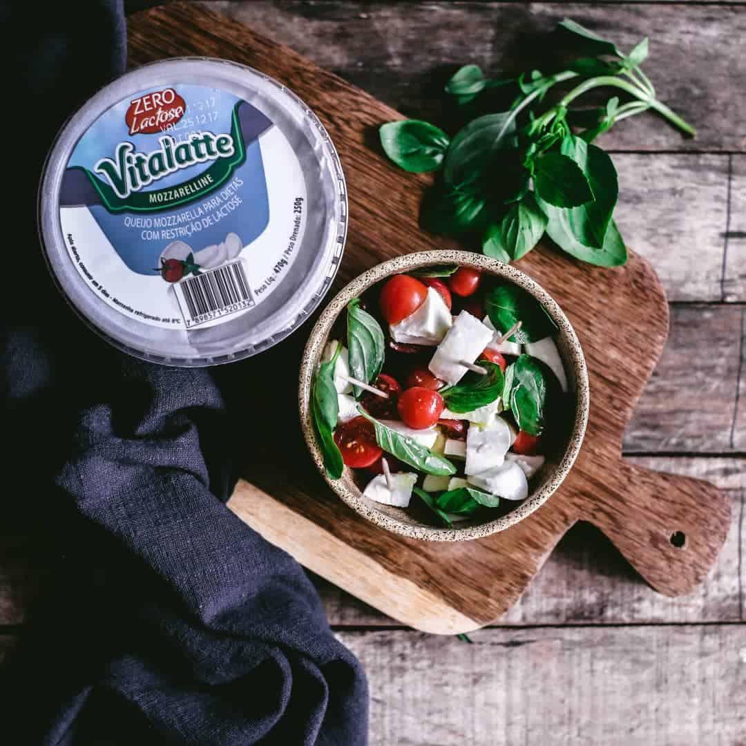 Queijo Mozzarelline Vitalatte para dietas com restrição de lactose