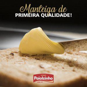 Manteiga de 1ª qualidade Paiolzinho