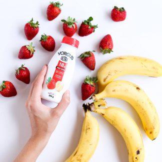 Iogurte Grego Yorgus Ultra Morango Banana