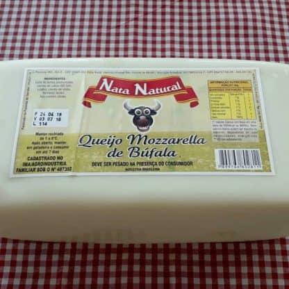 Queijo Mozzarella de Búfala Nata Natural