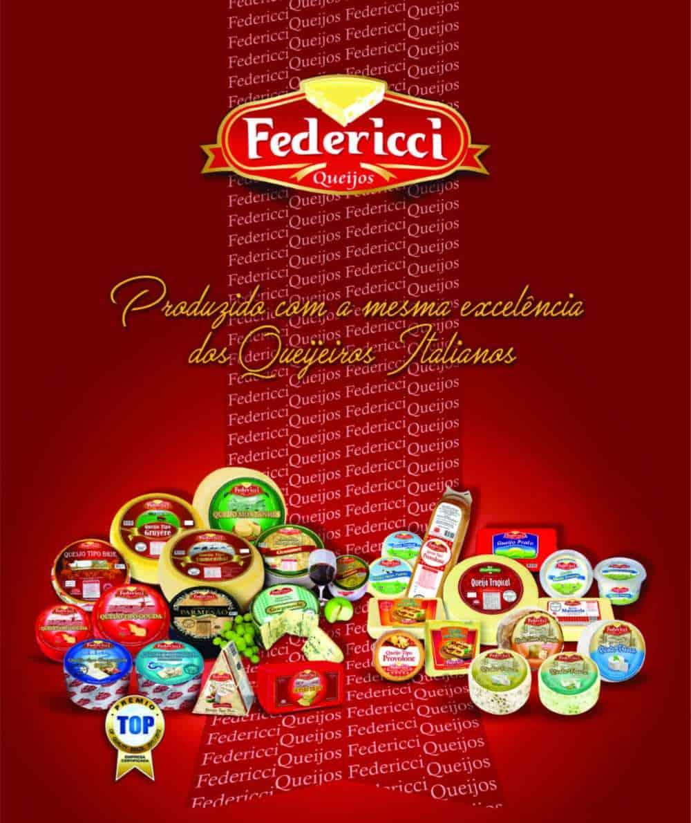 Laticínios queijos finos Federicci 1