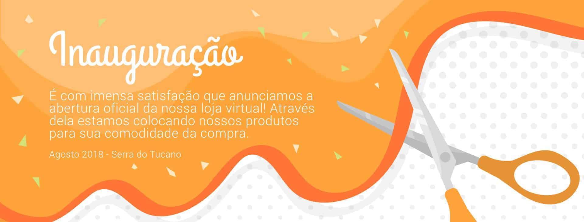 Inauguração da loja virtual da Serra do Tucano