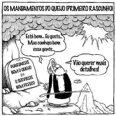 Os mandamentos do queijo