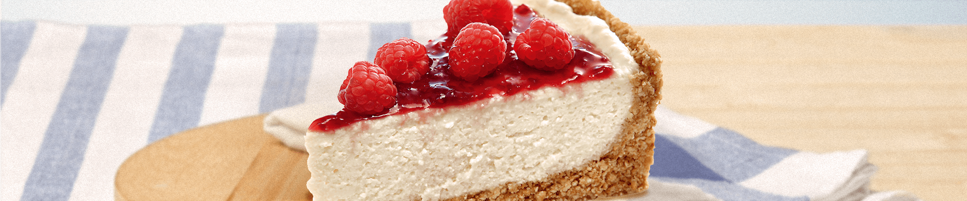 Cheesecake de Cream Cheese Catupiry®