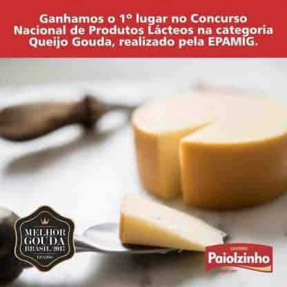 Queijo Gouda Paiolzingho